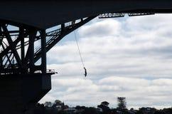 奥克兰港口桥梁 库存图片