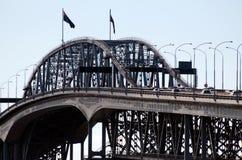 奥克兰港口桥梁 图库摄影