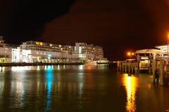 奥克兰码头 免版税库存图片