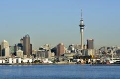 奥克兰街市地平线-新西兰 免版税库存照片