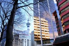 奥克兰街市新西兰 图库摄影