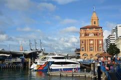 奥克兰轮渡码头在奥克兰新西兰 库存图片