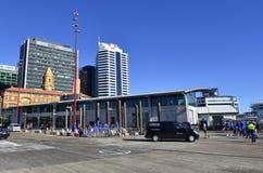 奥克兰轮渡码头新的大厦-新西兰 图库摄影
