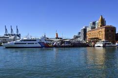 奥克兰轮渡码头-新西兰 库存图片