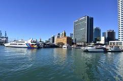 奥克兰轮渡码头-新西兰 库存照片