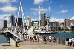 奥克兰都市风景在新西兰 库存照片