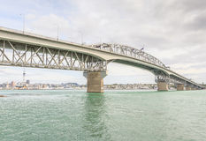 奥克兰,新的西兰2013年12月10日 奥克兰市看法  库存图片