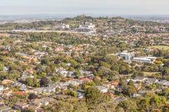 奥克兰,新的西兰2013年12月12日 奥克兰市视图 库存图片