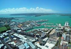 奥克兰-风帆城市,新西兰 免版税库存照片