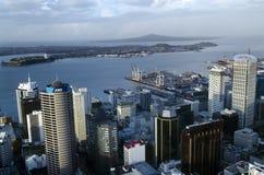 奥克兰CBD都市风景-新西兰NZ 图库摄影