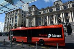 奥克兰CityLink公共汽车-新西兰 免版税图库摄影