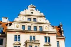 奥兰多房子,慕尼黑,巴伐利亚门面  库存图片