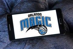 奥兰多魔术队美国蓝球队商标 图库摄影