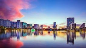 奥兰多,佛罗里达Citycape 库存图片