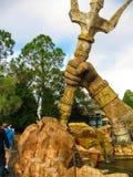 奥兰多,美国- 2014年1月02日:在冒险主题乐园环球影业海岛的主题的吸引力  图库摄影