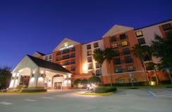 奥兰多- 2月2 : 旅馆Hyatt摄政在奥兰多,佛罗里达,美国 图库摄影