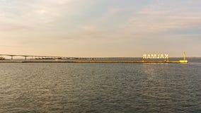 奥兰桥梁 免版税库存照片