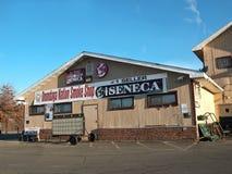 奥内达加人国家烟商店 库存图片