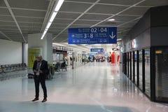 巴黎奥利机场 免版税图库摄影
