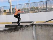 奥利溜冰板运动 免版税库存照片
