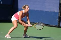 奥利维亚回归桑切斯・西班牙网球 图库摄影