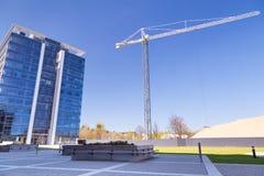 奥利维亚商业中心现代大厦建筑学  库存照片