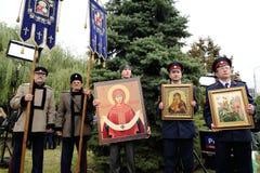 奥勒尔号,俄罗斯- 2016年10月14日:开放伊凡四世的纪念碑 免版税图库摄影