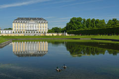奥古斯图斯堡城堡,德国 库存图片