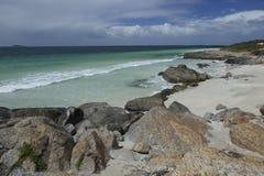 奥古斯塔海滩在澳洲 免版税图库摄影