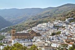 奥哈内斯村庄在阿尔梅里雅 安大路西亚 免版税库存照片