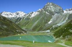 奥地利、蒂罗尔、阿尔卑斯和山湖 免版税图库摄影