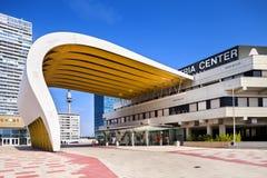 奥地利中心维也纳ACV会议中心。 库存照片