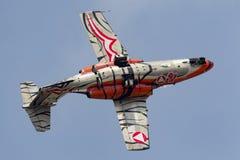 奥地利人空军队Ã-sterreichische Luftstreitkräfte绅宝105架喷气机教练机 免版税库存照片