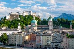 奥地利人萨尔茨堡 免版税图库摄影