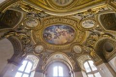 奥地利公寓的安妮,天窗,巴黎,法国 库存照片
