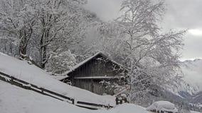 奥地利冬天 免版税库存照片