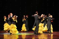 奥地利华尔兹这奥地利的世界舞蹈 库存图片