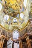 奥地利国立图书馆在维也纳 免版税库存图片
