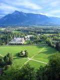 奥地利地产萨尔茨堡 免版税库存图片