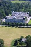 奥地利城堡萨尔茨堡 免版税图库摄影