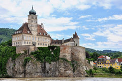 奥地利城堡 免版税图库摄影