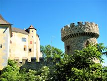 奥地利城堡 库存照片