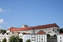 奥地利城堡lamberg 免版税库存图片