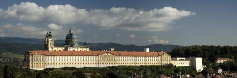 奥地利城堡melk 图库摄影