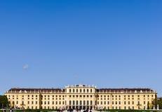 奥地利城堡schoenbrunn维也纳 免版税库存照片