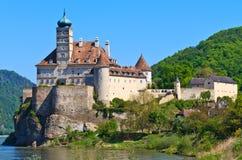 奥地利城堡schonbuhel wachau 免版税库存照片