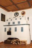 奥地利壁炉 库存图片