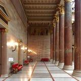 奥地利大厦议会 库存照片