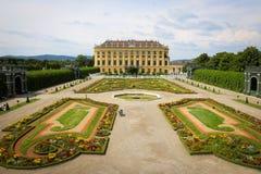 奥地利宫殿schonbrunn维也纳 免版税库存图片