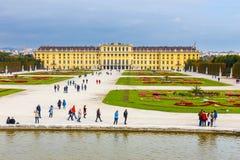奥地利宫殿schonbrunn维也纳 库存图片